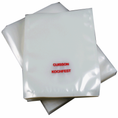Boilable vacuum bags up to 115 °C with printing