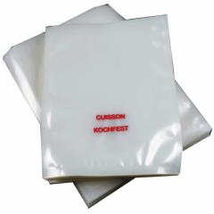 """Kochfeste Vakuumbeutel bis 115°C, mit Aufdruck """"cuisson/kochfest"""""""