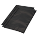 Vacuum bags with black background 150x300 mm, 100 bags