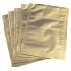 Sac sous vide avec fond doré 200x280 mm, (100)